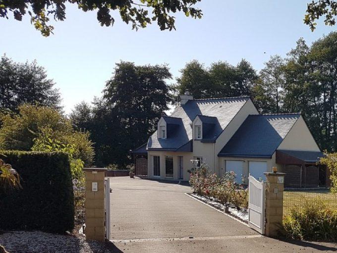Maison avec piscine – proche VITRE (35)